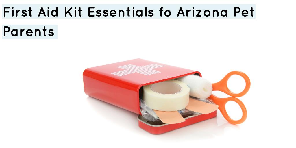 First Aid Kit Essentials For Arizona Pet Parents